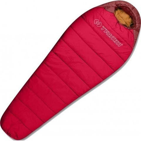 Зимний спальный мешок Trimm POLARIS II, 195 R (красный)