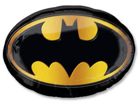 Фольгированный шар Бэтмен эмблема