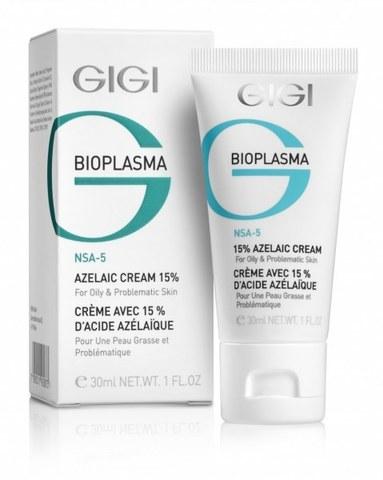 Азелаиновый крем для жирной кожи Azelaic Cream, Bioplasma, GiGi, 30 мл