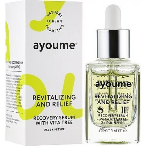 Ayoume Vita Tree Revitalizing & Relief Serum сыворотка для лица восстанавливающая