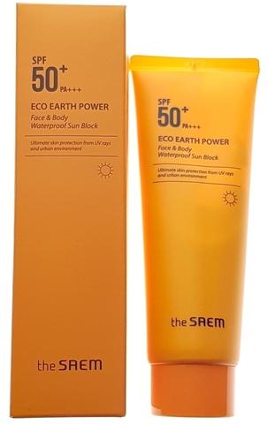 CM Sun  Крем солнцезащитный Eco Earth Face & Body Waterproof Sun Cream