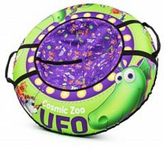 Тюбинг Cosmic Zoo UFO Динозаврик (зеленый)