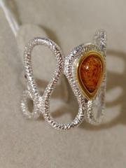 Лакла (кольцо из серебра)