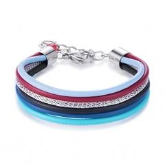 Браслет Coeur de Lion 0120/30-1568 цвет голубой, синий, серый