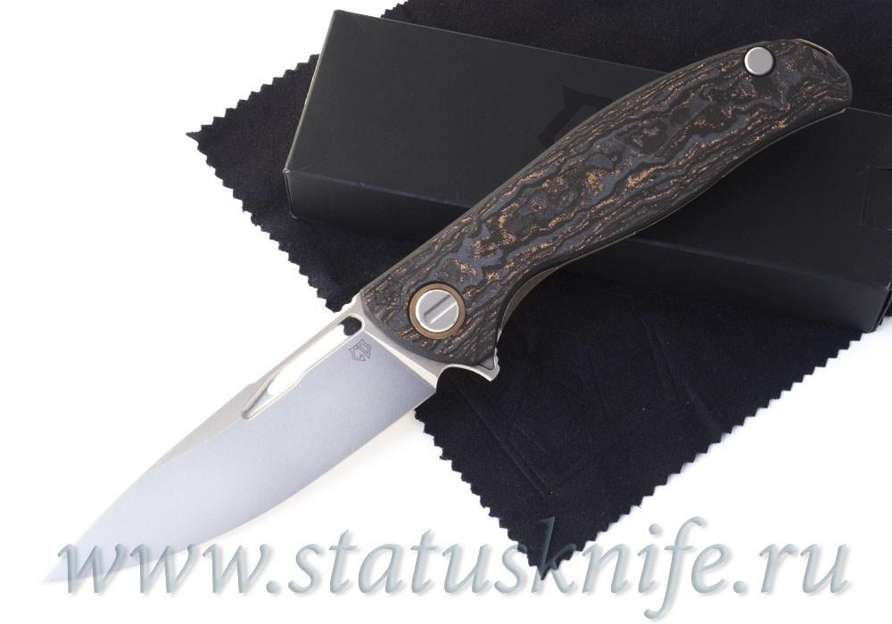 Нож Широгоров Хати CF Bronze 3D S90V Custom Division