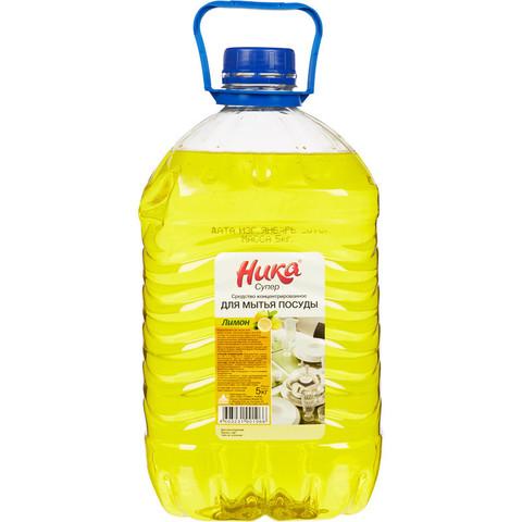 Средство для ручного мытья посуды Ника Супер 5 кг (концентрат)