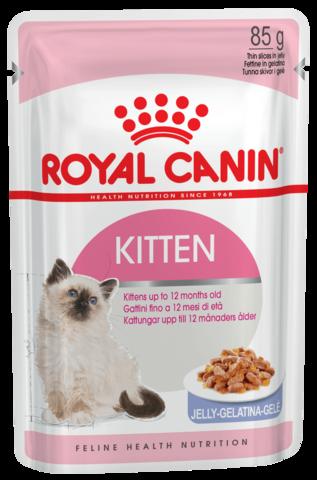 Kitten Instinctive (в желе) - Влажный корм для котят с 4 до 12 месяцев 85г.