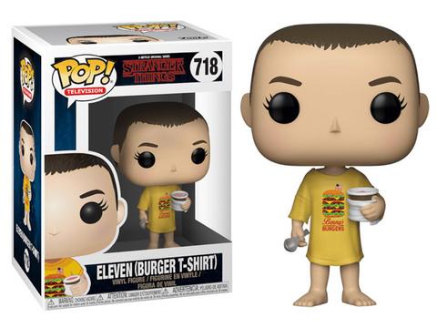 Eleven (Burger T-Shirt) Stranger Things Funko Pop! Vinyl Figure || Одиннадцатая в футболке с бургером