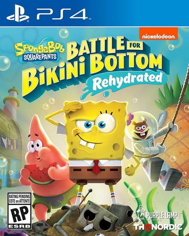 SpongeBob SquarePants Battle for Bikini Bottom - Rehydrated