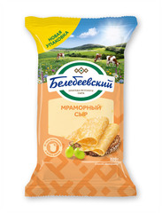 "Сыр ""Белебеевский"" Мраморный 45% 190г"