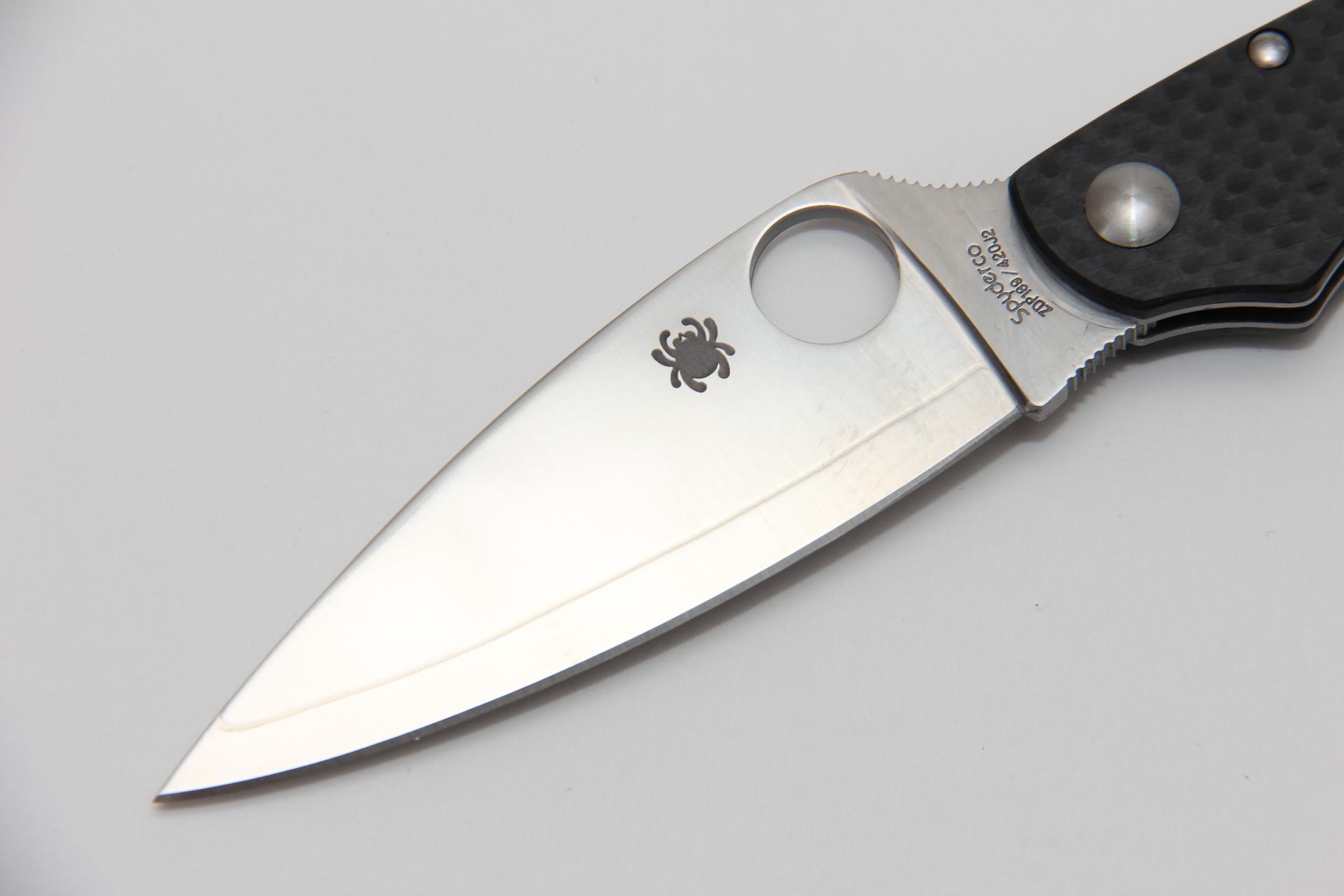 Нож Spyderco Caly 3.5 C144CFPE - фотография