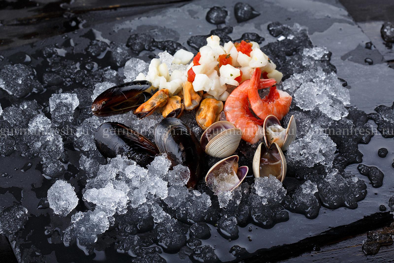 """Морской коктейль с моллюском, """"ARBI"""""""