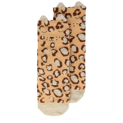 Носки с леопардом