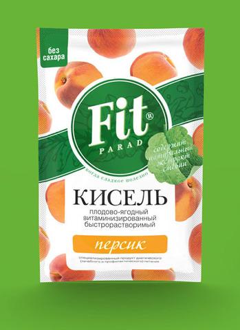 Кисель витаминизир Персик Фит Парад (Питэко) 30г