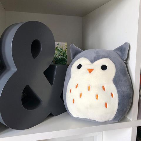 Мягкая игрушка сквиш антистресс Squishmallows Сова Хутти