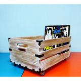 Ящик Для Хранения Пластинок MagicWood (Pale Yellow)