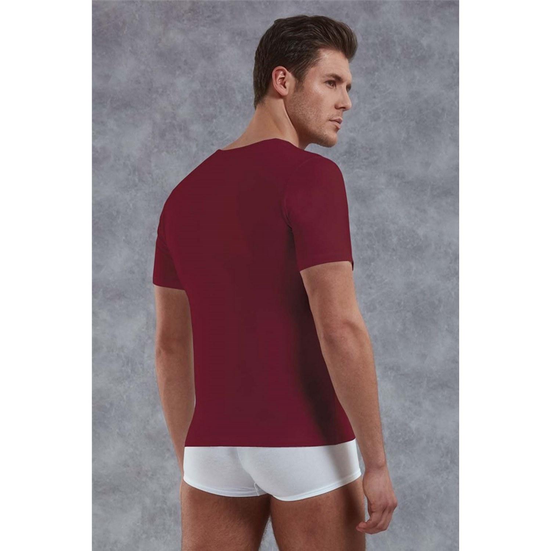 Мужская футболка бордовая Doreanse 2820