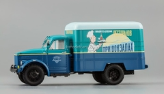 GAZ-51 Van advertising Restaurants at stations 1953 DIP 1:43