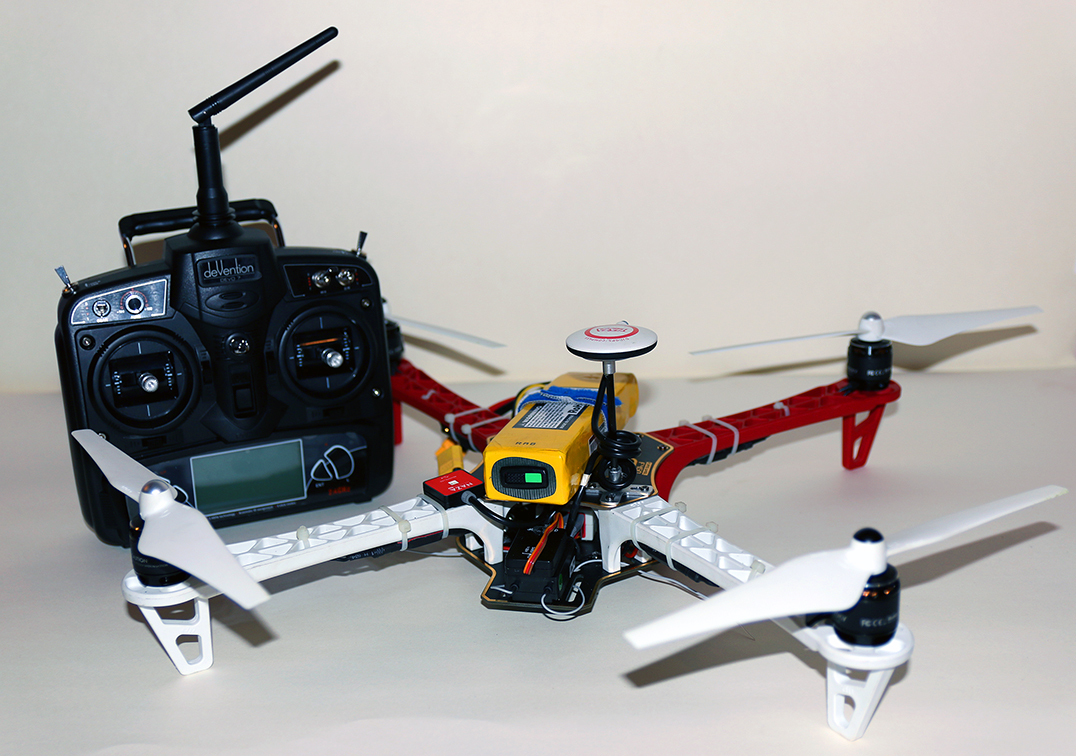Квадрокоптер Беллини v.0.3.0 с пультом