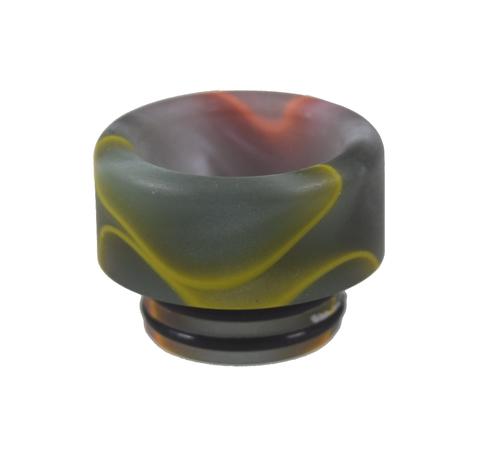 Drip-Tip 810 Acrylic d12.2 серый