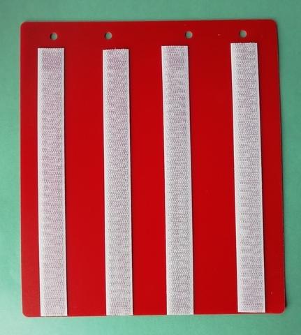 Лист-вкладыш для БОЛЬШОЙ ПАПКИ для карточек 4*4 см