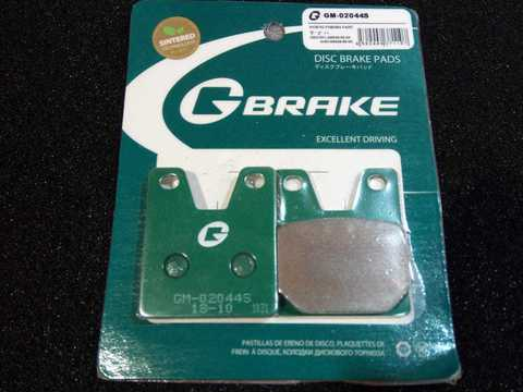 Тормозные колодки G-brake 02044S Yamaha YZF 1000 R1 YZF R7 750 FZS 1000 Fazer