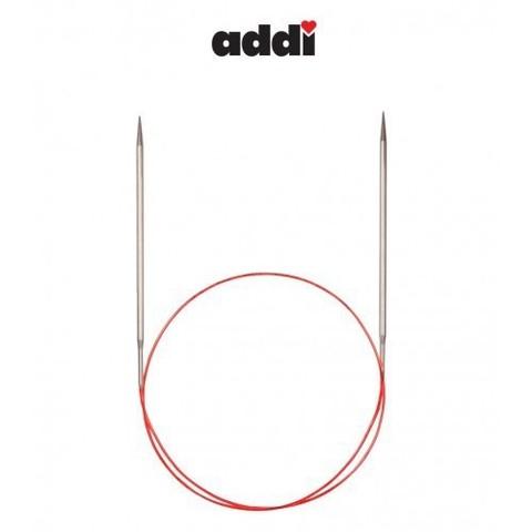 Спицы Addi круговые с удлиненным кончиком для тонкой пряжи 80 см, 2 мм