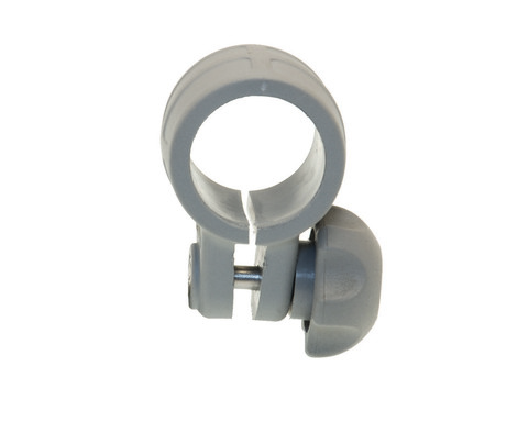 Хомут Cn032 на трубу Ø 32 мм, серый