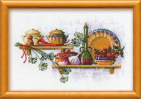 Набор для вышивания крестом «Укроп» (992)