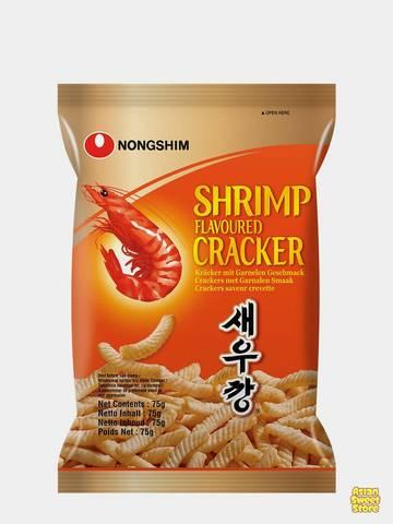 Чипсы Nongshim со вкусом креветок 75 гр