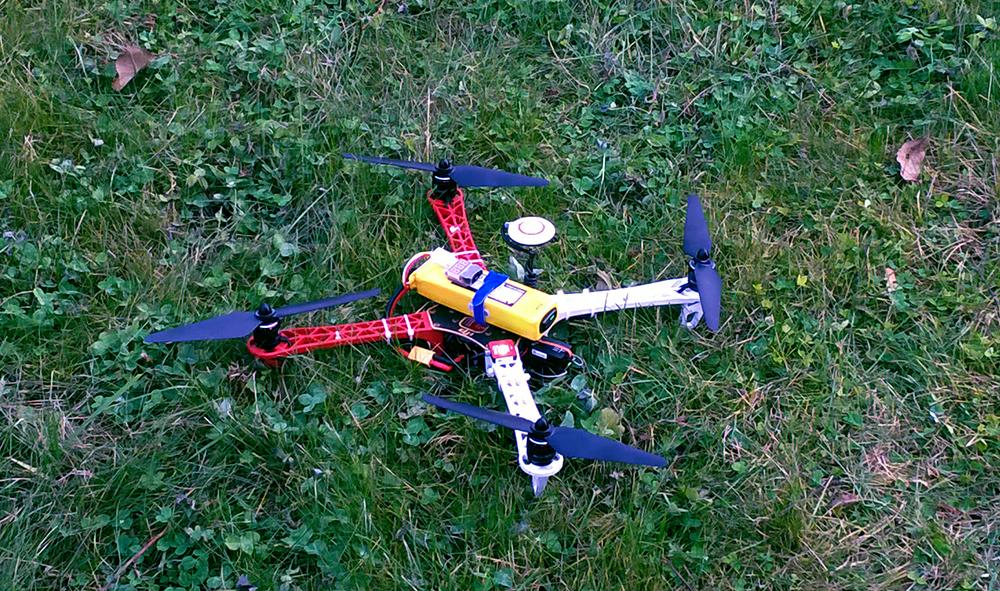 Квадрокоптер Беллини v.0.3.0 на базе Air Gear 350 +ESC