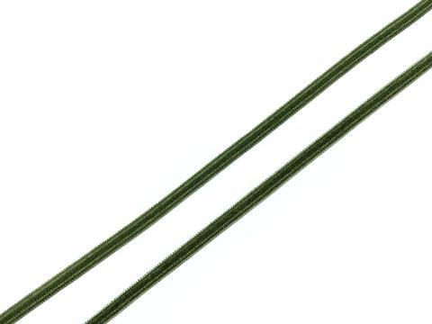 Резинка отделочная хаки светлый 4 мм