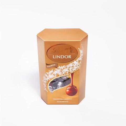 Ассорти конфет Lindt Lindor с шоколадной начинкой, 200 г