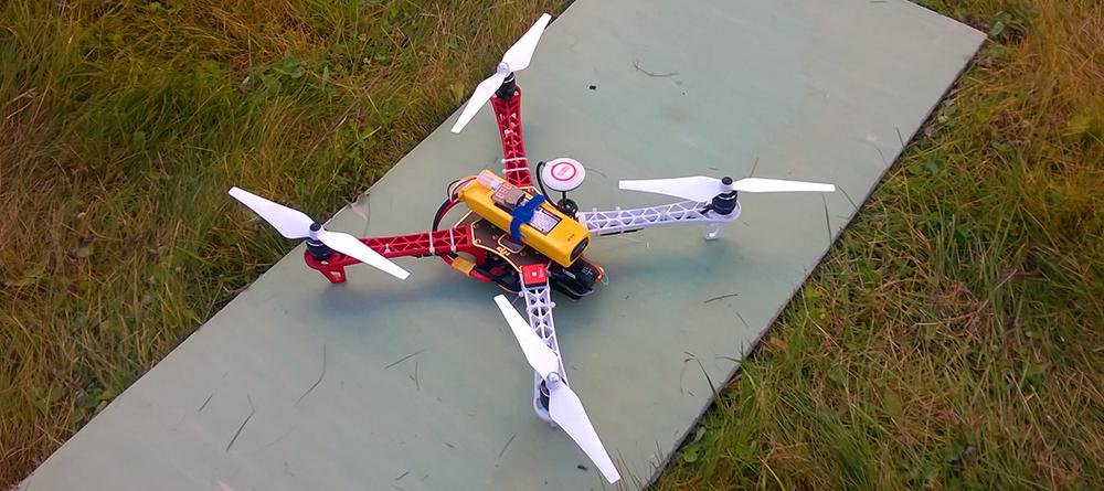 Квадрокоптер Беллини v.0.3.0 на базе DJI F450