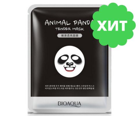 Смягчающая маска Animal Face Panda, 30гр