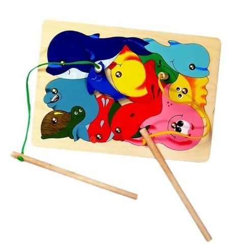 Магнитная мозаика-пазл Рыбалка, Крона, арт. 143-008