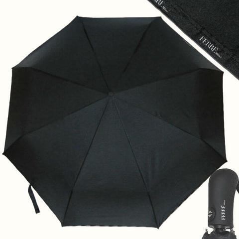Большой черный зонтик для мужчин