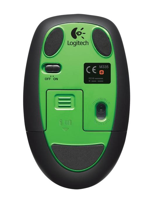 LOGITECH M345 Wireless Mouse Lime