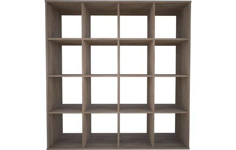 Стеллаж Polini Home Smart Кубический 16 секции, дуб