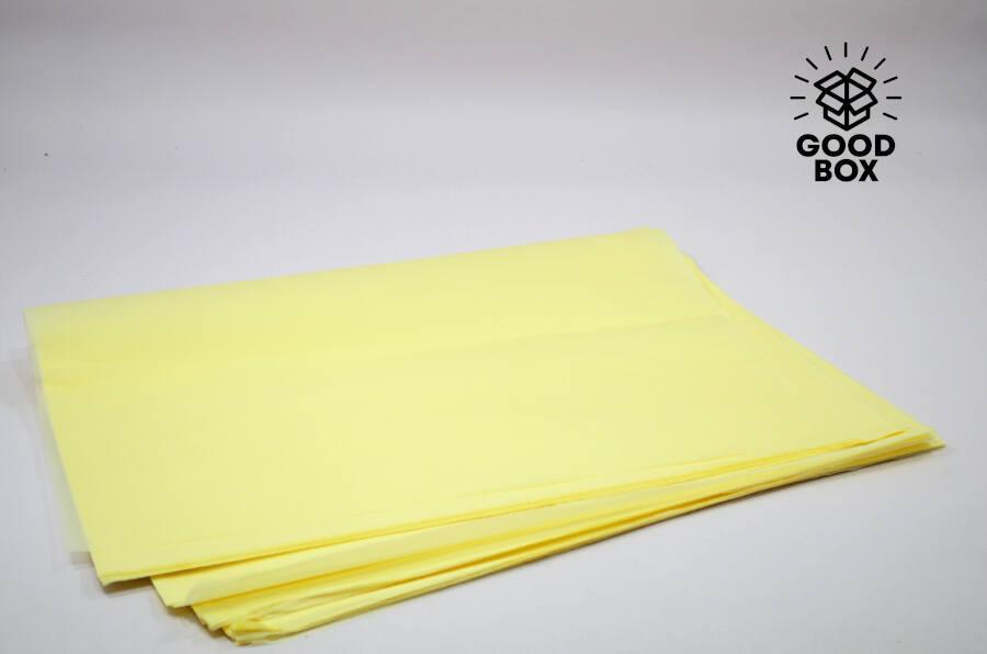 Желтая оберточная бумага купить в Казахстане