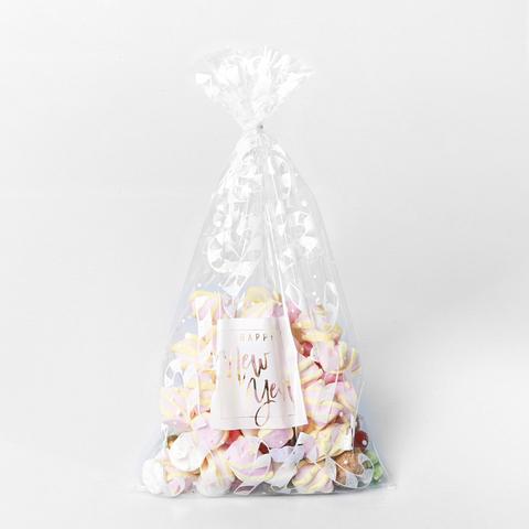 Пакет подарочный «Новогодние леденцы», 20*35 см
