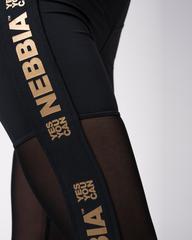 Лосины женские Nebbia 829 Gold Mesh
