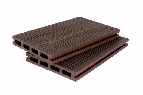 Террасная доска 140мм 3D Шоколад