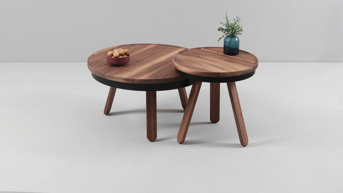 Кофейный столик Batea S орех - вид 3