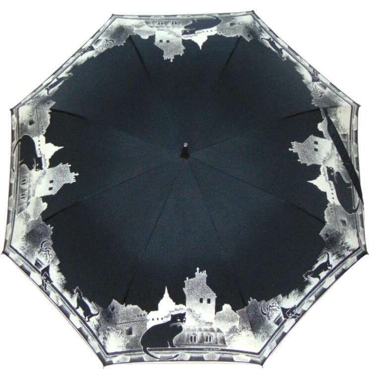 Зонт-трость Guy de Jean Black Cat