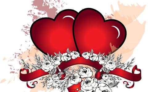 Печать на вафельной бумаге, День Влюбленных 10
