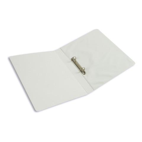 Папка на 2-х кольцах Bantex Панорама 35 мм белая до 175 листов