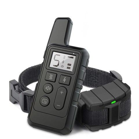 Электронный ошейник для дрессировки PET-500 Черный