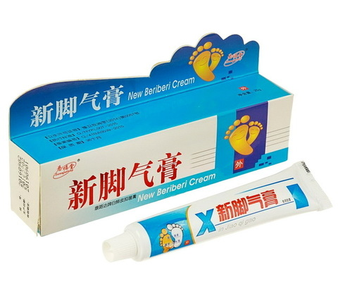 Фитокрем от грибка и потливости ног New Beriberi Cream Xuanfutang, 25 г