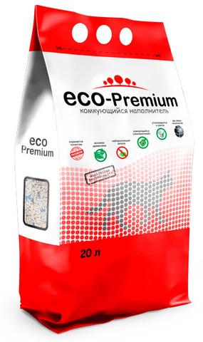 ECO Premium BLUE наполнитель древесный сосна 7,6 кг 20 л